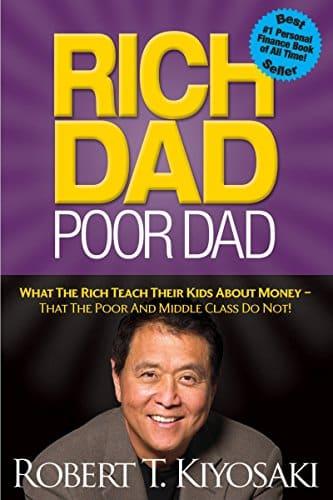 Book Cover: Rich Dad Poor Dad by Robert T. Kiyosaki