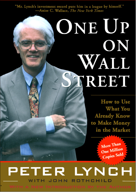 One Up On Wall Street - Book Cover