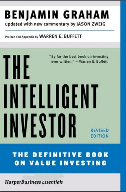 Cover image: The Intelligent Investor by Benjamin Graham